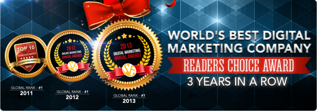 PromotionWorld 2013 Award